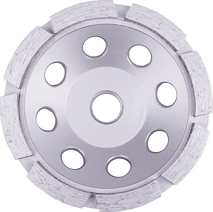 Single Row Diamond Cup Wheel For Grinding Concrete and Masonry