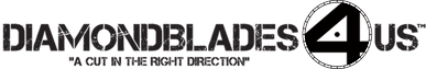 Diamondblades4us | USA | Tools | Power Tools | Diamond Blades | Diamond Core Bits | Concrete Grinders | Cup Wheels | Demolition Blades | Logo