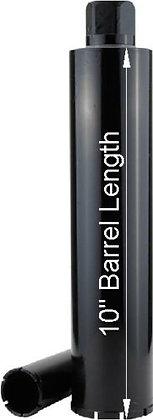 Extra Short Barrel Pro Grade Diamond core bits cut concrete, brick, block
