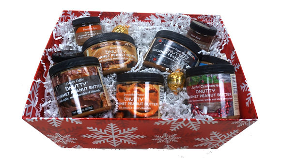 Holly Jolly Gift Basket