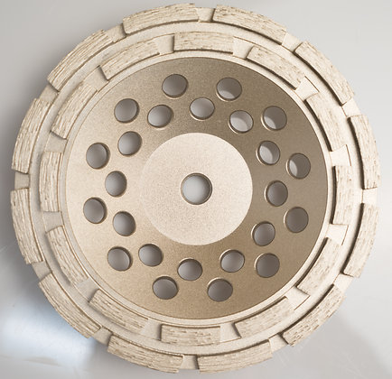 Double Row Diamond Cup Wheel For Concrete and Masonry