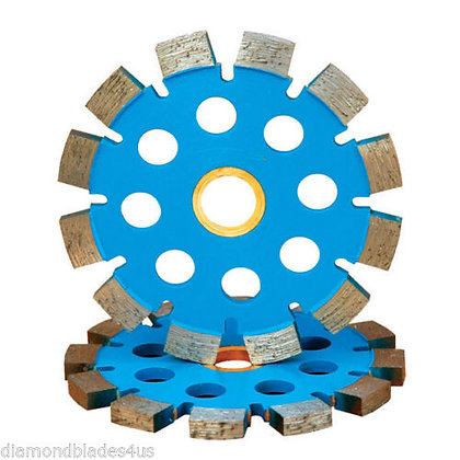 "4"" - 7"" Diameter Split Seg Diamond Tuck Point Blades Mortar Grout Removal"