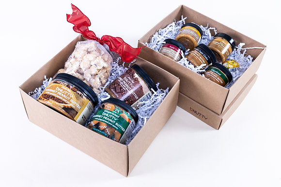 Snowy Day Sweets Combination (Mini-Small Holiday Stacking Box Combo)