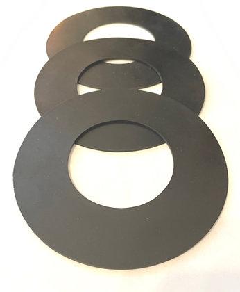3 Pack Cdclarue Pulsebac 1000 series filter seal kit for pulsebac vacuums