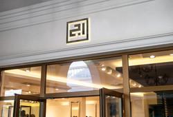 Shop Facade. Design.