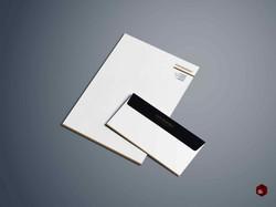 Letterhead. Envelope.