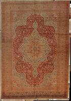 Antique Tabriz Medallion