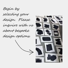 Select a custom rug pattern