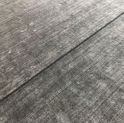 Custom Color & Texture Solid Gray Rug
