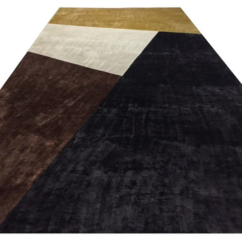 Custom Rug - Color Block - Bespoke Interiors