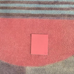 Gunta Stolzl - Bauhaus Rug - Pink Color