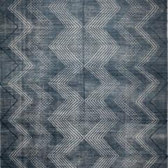 Tribal Blue Rug