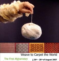 The First International Afghan Carpet Fair 2007