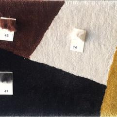 Color Block Rug Strike-Off