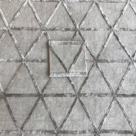 Triangle Pattern Engineered Rug