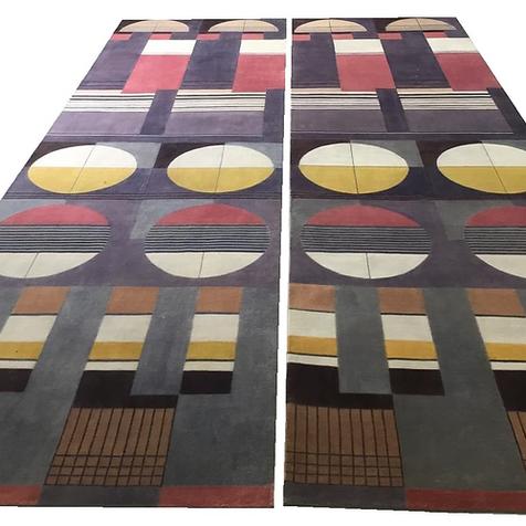 Bauhaus Design Rug