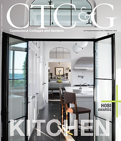 Connecticut Cottages & Gardens - Greenwich Home with Edgy Interior