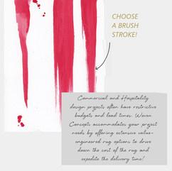 Select a brush stroke.