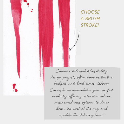 Select a brush stroke.