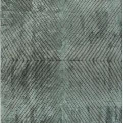 (Poise) Dark Gray-Aqua Blue