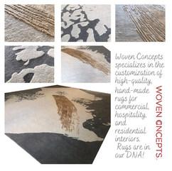 Value-engineered rug for custom interiors