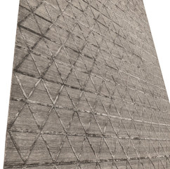 Triangle Pattern Engineered Rug