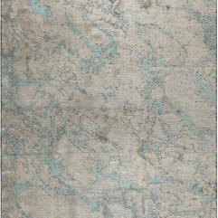 (Radiant) Beige Grey-Aqua Blue