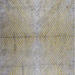 (Poise) Lemon Yellow-Silver Gray