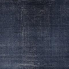 Solid Midnight Blue Rug