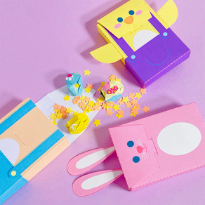 Have a Creative Easter making these little egg hunt boxes with the little ones!