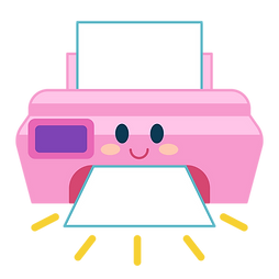 Printer Icon for Moon Paper Toys Club: DIY subscriptions for kids