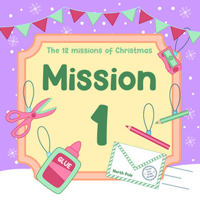 The 12 Missions of Christmas | Mission 1: Time to Decorate your HQ!