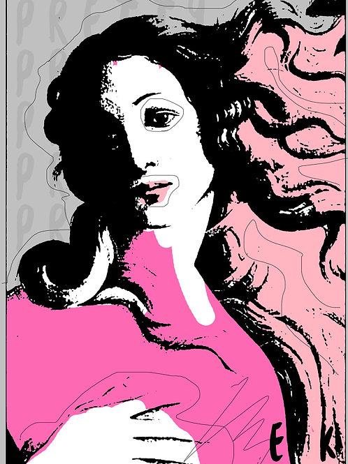 Pretty. 16*20 Print
