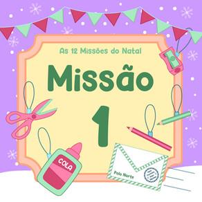 As 12 Missões de Natal | Missão 1: Hora de Decorar a Central de Operações!