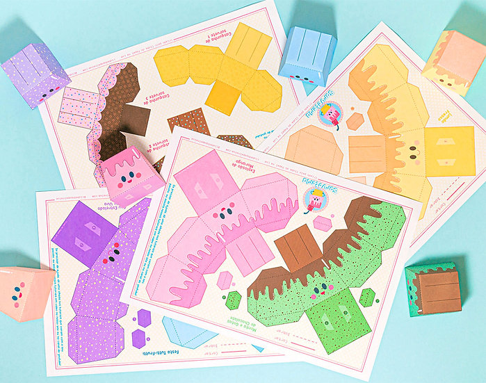 Paper Ice Cream Shop Kit
