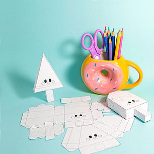 About the Club: Moon Paper Toys Club DIY subscription for kids