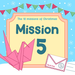 The 12 Missions of Christmas | Mission 5: A mission for the future