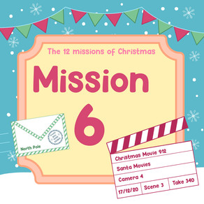 The 12 Missions of Christmas | Mission 6: Christmas Film Festival