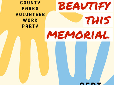 Join us for a volunteer event Sept 25, 2021