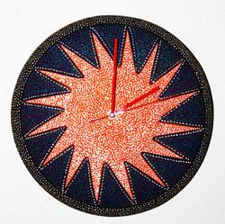 "14"" Wall Clock/Starburst"