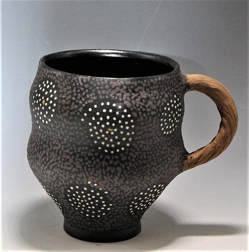 Swirl Mug, Ceramic, fired to cone 5