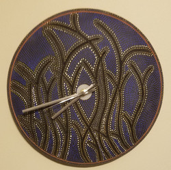 """14"""" Ceramic Wall Clock"""