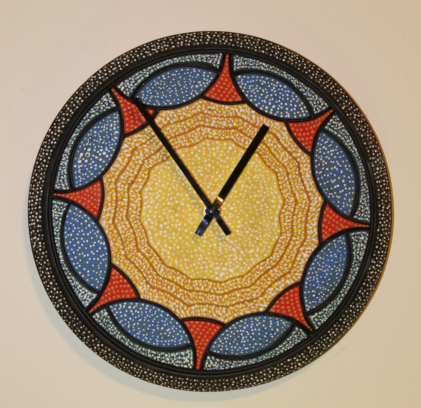 """Nova"" 14"" D Wall Clock $90 Available"