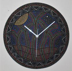 "North star wall clock 16""D"