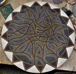 """20"""" Ceramic Wall Clock"""