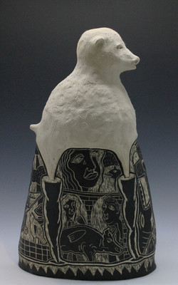lamb bottle right view