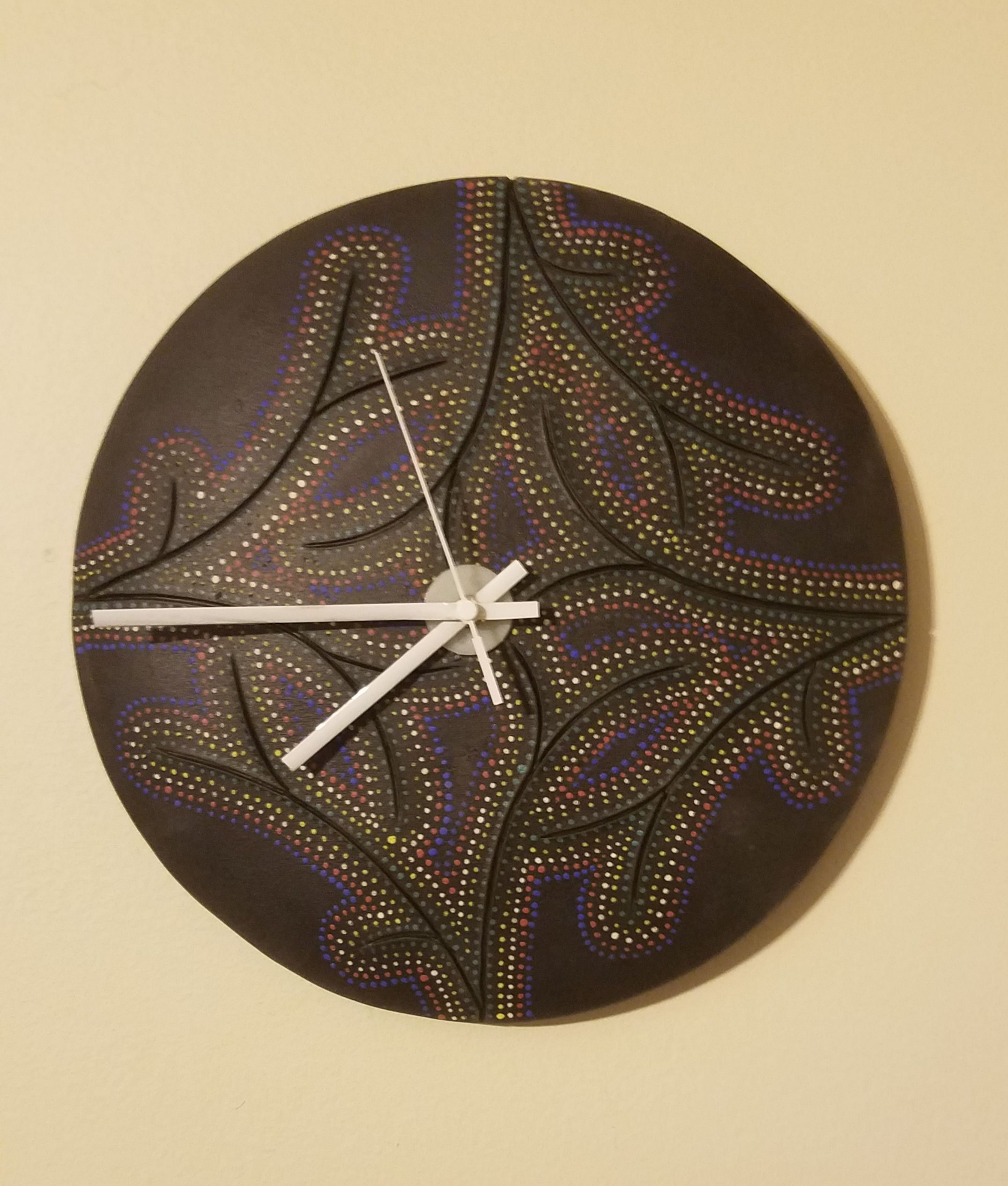 "10"" D  Wall Clock-sold"
