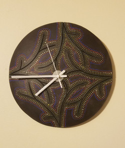 """10"""" D  Wall Clock-sold"""