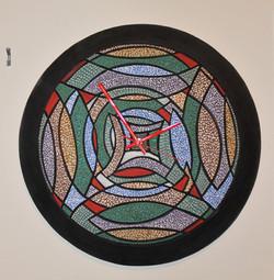 """Onion"" Ceramic Wall Clock"
