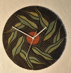 """Falling Leaves"" Wall Clock"